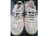 Real leather Unisex Mistral Trainers size 6/39