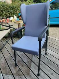 Adjustable chair in Pale Blue