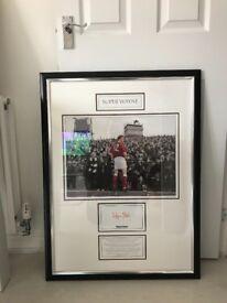 Wayne Foster Hearts FC Memorabilia