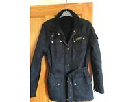 Black Barbour jacket