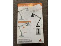 Architect Double Arm Desk Lamp with LED Lightbulb