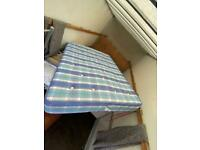 double bed frame and mattress as new Delivery available
