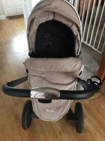 Silver Cross Surf Carrycot and Pushchair Travel System