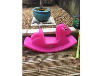 Little tikes rocking seahorse Pink
