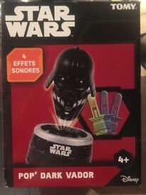 Pop up darth game star wars