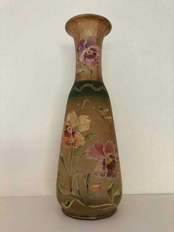 Antique glass vase