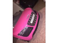 Pink Audi ride on used ONCE!!