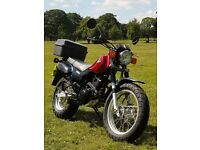 YAMAHA TW125 TW 125 Trailway Adventure FSH Full Service History MOT serviced/new chain+sprockets