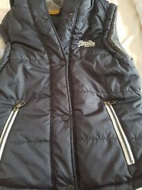 Size 14 womans superdry body warmer