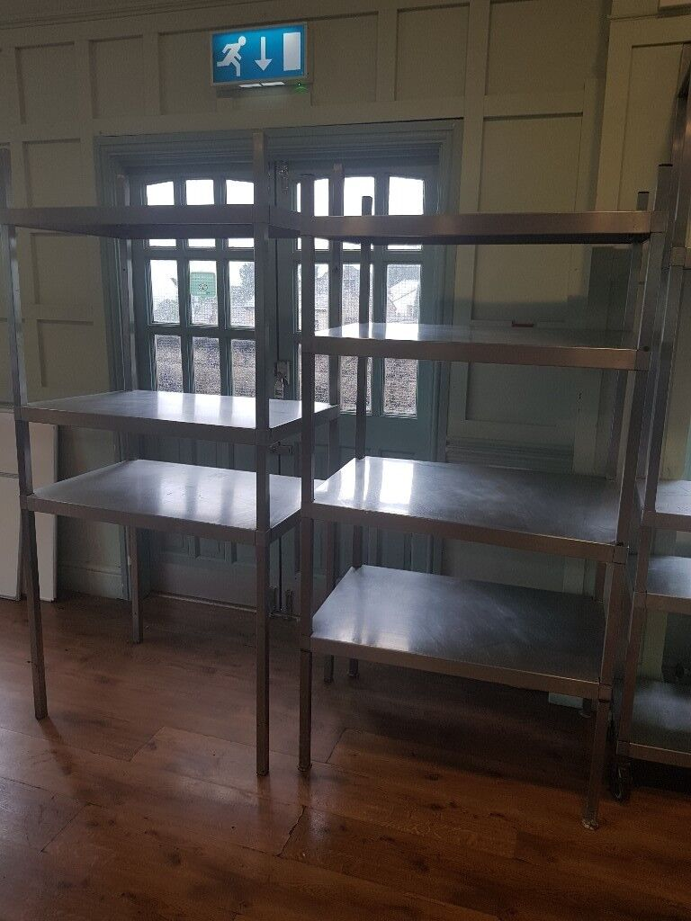 metal kitchen shelving for restaurant. | in Mottram, Manchester ...