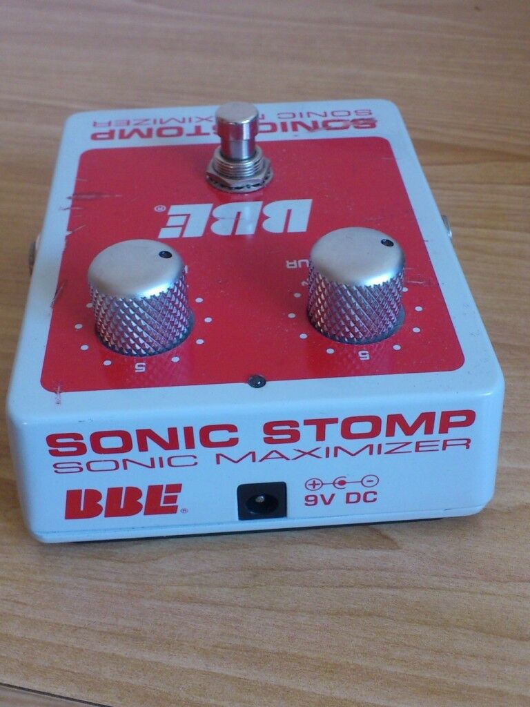 PEDAL BBE MAXIMIZER SONIC STOMP