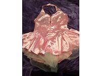 Pink tutu dress + wings