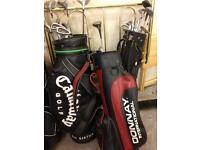 Golf Club and Bags