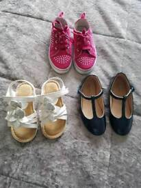 Girls shoes/sandals size 8