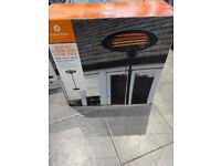 La hacienda 2000w adjustable patio heater.