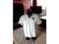 Rare England football shirt 1987