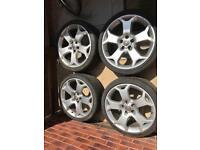 "Vauxhall VXR Alloy wheels 19"" astra, vectra, Zafira"