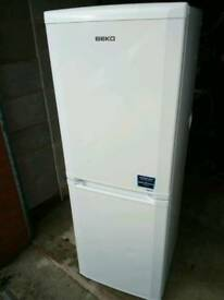 Beko fridge freezer frost free.