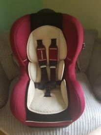Mothercare reclining car seat