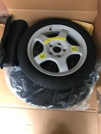 BMW 1/2/3/5 series space saver alloy wheel
