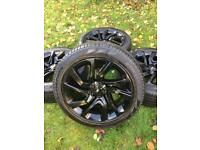 """21"""" Range Rover Sport Vogue Discovery Alloy Wheels Tyres"""