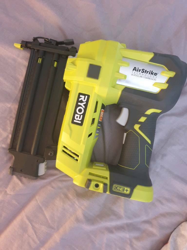 Ryobi 18v One+ 18 Gauge Nail Gun | in Llanrumney, Cardiff | Gumtree