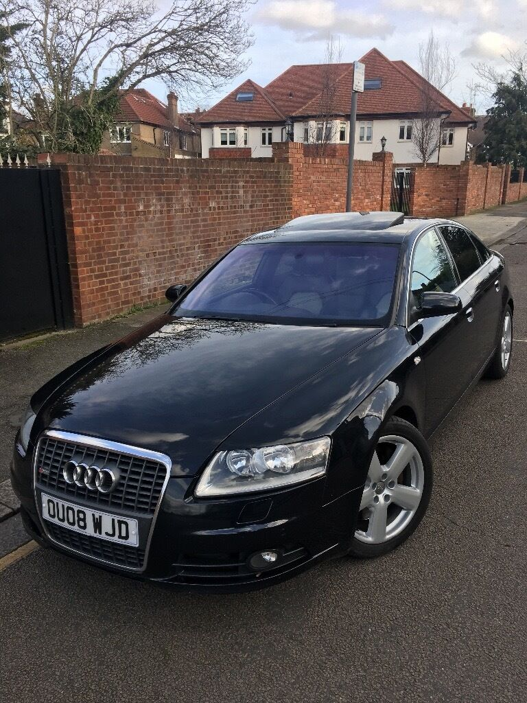 2008 audi a6 3 0 tdi s line v6 quattro full service history immaculate car in willesden. Black Bedroom Furniture Sets. Home Design Ideas