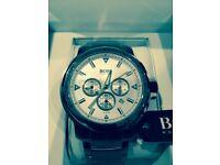 Hugo Boss - Brand New, Unworn Men's Hugo Boss Chronograph Silver Watch