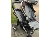 Icandy Peach double stroller for sale