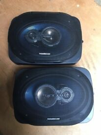 6x9 1000wat 3 way speakers and pods by theloudest com