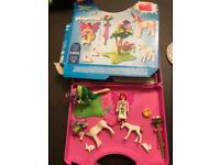Playmobil 5995 - fairy and unicorn - carry case