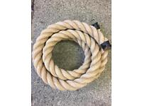 50mm synthetic decking rope x 10 metres, brand new,unused, gardens,gyms, handrails