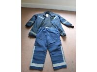Genuine dorset fire brigade jacket and trousers