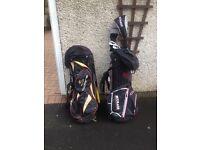 Golf bags x2