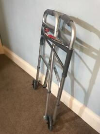 Very Useful Folding Mobility Walker Adjustable Height Idea for popping in the car R463