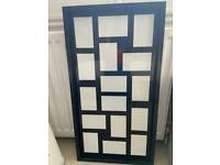 Next block frame mirror black frame