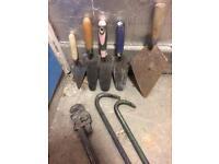 Old tools used tools