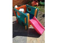 Slide garden slide little tikes