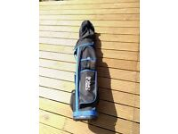 Golf club set - 13 clubs (irons+putters) with bag and tees