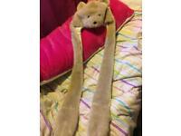 Animal scarf (polar bear)