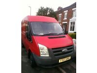 Man and van services for any removal work