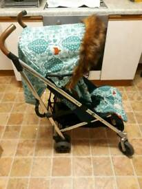 MAMAS & PAPAS URBO BUG DONNA WILSON FOX STROLLER