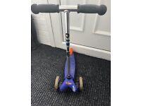 Mini micro scooter classic in blue