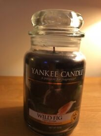 Yankee Candle in Wild Fig