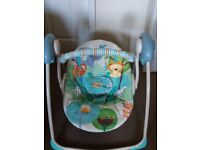 Baby swing rocking chair
