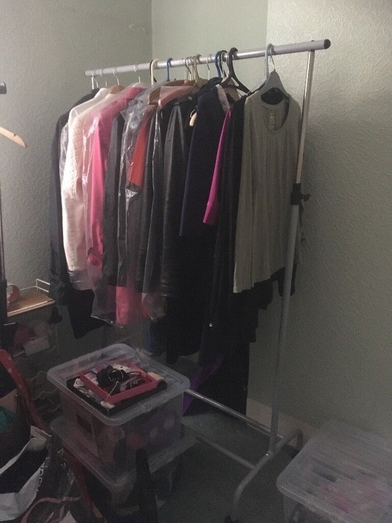 IKEA large clothing rail