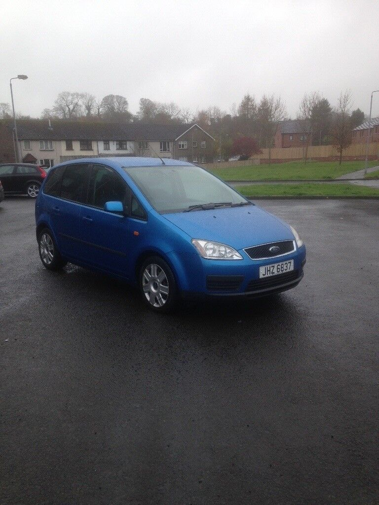 Ford Focus c-max 1.6 tdci diesel, looks and drives like new genuine low miles