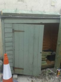 6ft x 5ft Wooden Garden Shed