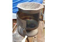 Lightweight camping burner