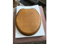 Burlington Oak Toilet Seat - New